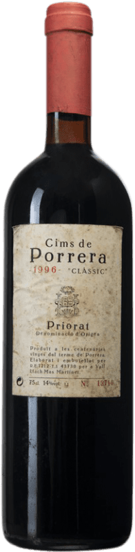 167,95 € | Red wine Cims de Porrera Clàssic 1996 D.O.Ca. Priorat Catalonia Spain Grenache, Cabernet Sauvignon, Carignan Bottle 75 cl