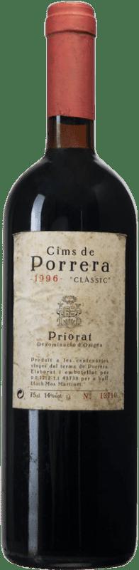169,95 € Free Shipping   Red wine Finques Cims de Porrera Clàssic 1996 D.O.Ca. Priorat Catalonia Spain Grenache, Cabernet Sauvignon, Carignan Bottle 75 cl
