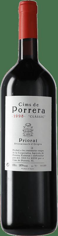 232,95 € Free Shipping | Red wine Cims de Porrera Clàssic 1998 D.O.Ca. Priorat Catalonia Spain Grenache, Cabernet Sauvignon, Carignan Magnum Bottle 1,5 L
