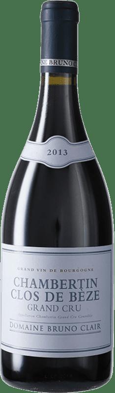 344,95 € Free Shipping | Red wine Bruno Clair Clos de Bèze Grand Cru A.O.C. Chambertin Burgundy France Pinot Black Bottle 75 cl