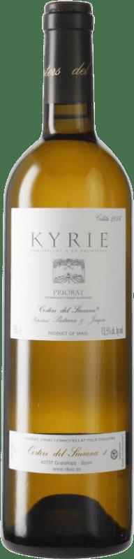 87,95 € 免费送货 | 白酒 Costers del Siurana Clos de L'Obac Kyrie D.O.Ca. Priorat 加泰罗尼亚 西班牙 瓶子 75 cl