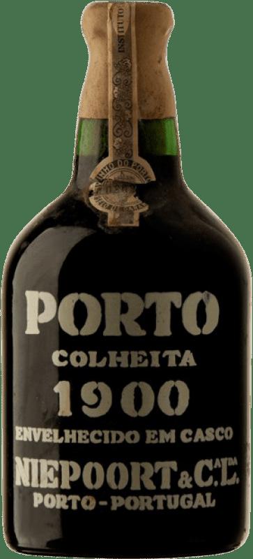 2 174,95 € Envío gratis | Vino tinto Niepoort Colheita 1900 I.G. Porto Porto Portugal Touriga Franca, Touriga Nacional, Tinta Roriz Botella 75 cl