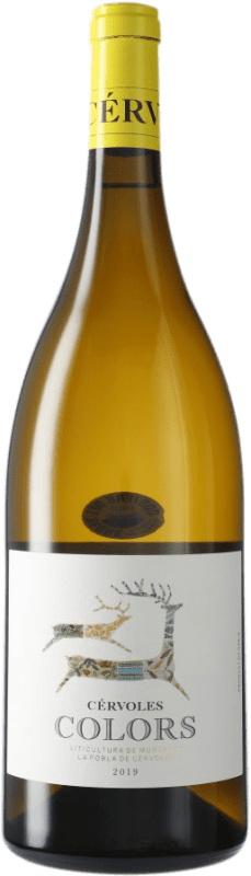 18,95 € Free Shipping | White wine Cérvoles Colors Blanc D.O. Costers del Segre Spain Magnum Bottle 1,5 L