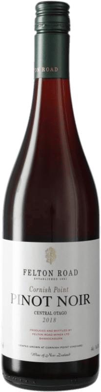 84,95 € Free Shipping | Red wine Felton Road Cornish Point I.G. Central Otago Central Otago New Zealand Pinot Black Bottle 75 cl
