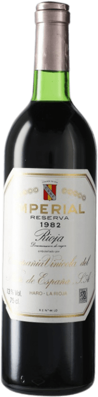 162,95 € | Red wine Norte de España - CVNE Cune Imperial Reserva 1982 D.O.Ca. Rioja Spain Bottle 75 cl