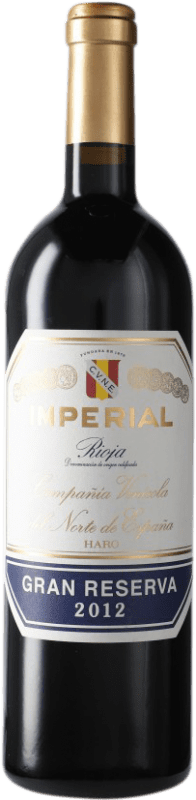 53,95 € | Red wine Norte de España - CVNE Cune Imperial Gran Reserva D.O.Ca. Rioja Spain Tempranillo, Graciano, Mazuelo Bottle 75 cl