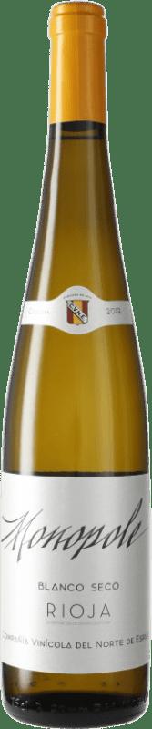 6,95 € Envoi gratuit | Vin blanc Norte de España - CVNE Cune Monopole D.O.Ca. Rioja Espagne Bouteille 75 cl