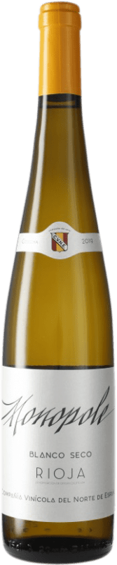 6,95 € Envío gratis | Vino blanco Norte de España - CVNE Cune Monopole D.O.Ca. Rioja España Botella 75 cl