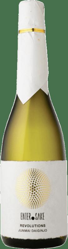142,95 € Envío gratis | Sake Enter Sake Dassai Revolutions New Japón Botella 72 cl