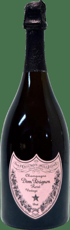 695,95 € | Rosé sparkling Moët & Chandon Dom Pérignon Rosé Jewel 2002 A.O.C. Champagne Champagne France Pinot Black, Chardonnay Bottle 75 cl
