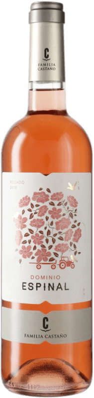 4,95 € Free Shipping | Rosé wine Castaño Dominio de Espinal D.O. Yecla Spain Monastrell Bottle 75 cl