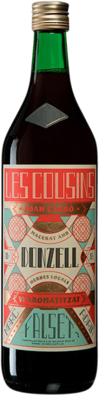 9,95 € Free Shipping | Spirits Les Cousins Donzell Catalonia Spain Missile Bottle 1 L