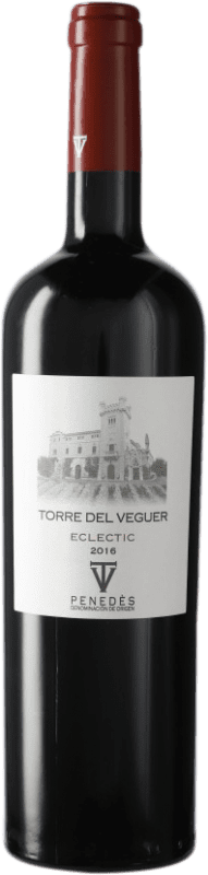 11,95 € Free Shipping | Red wine Torre del Veguer Eclectic D.O. Penedès Catalonia Spain Bottle 75 cl