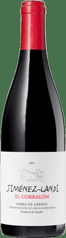 9,95 € Envío gratis | Vino tinto Jiménez-Landi El Corralón D.O. Méntrida España Syrah, Cabernet Sauvignon Botella 75 cl