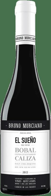 23,95 € 免费送货 | 红酒 Murciano & Sampedro El Sueño D.O. Utiel-Requena 西班牙 Bobal 瓶子 75 cl