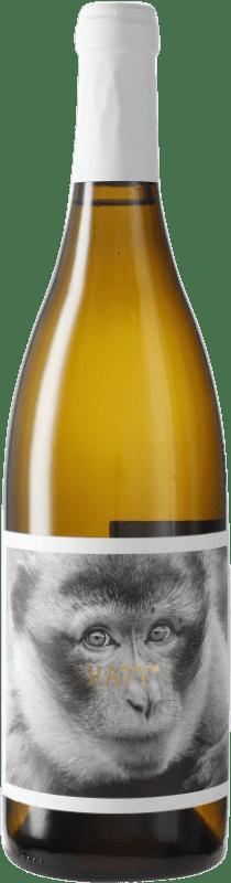 8,95 € Free Shipping | White wine La Vinyeta Els Monos Cati Blanc D.O. Empordà Catalonia Spain Bottle 75 cl