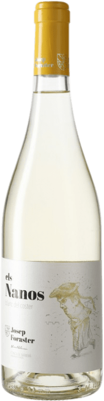 6,95 € Free Shipping | White wine Josep Foraster Els Nanos Blanc del Coster D.O. Conca de Barberà Catalonia Spain Macabeo Bottle 75 cl