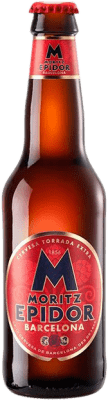 1,95 € Free Shipping | Beer Cervezas Moritz Epidor Catalonia Spain Botellín Tercio 33 cl