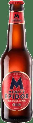 1,95 € 免费送货   啤酒 Cervezas Moritz Epidor 加泰罗尼亚 西班牙 Botellín Tercio 33 cl