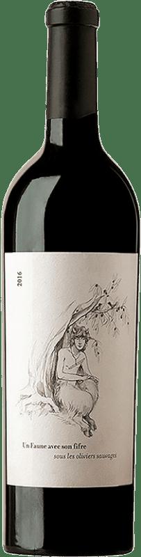 56,95 € Free Shipping | White wine Le Clos des Fées Faune Blanc A.O.C. Côtes du Roussillon Languedoc-Roussillon France Sémillon Bottle 75 cl