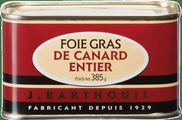 73,95 € Free Shipping | Foie y Patés J. Barthouil Foie de Canard Entier France