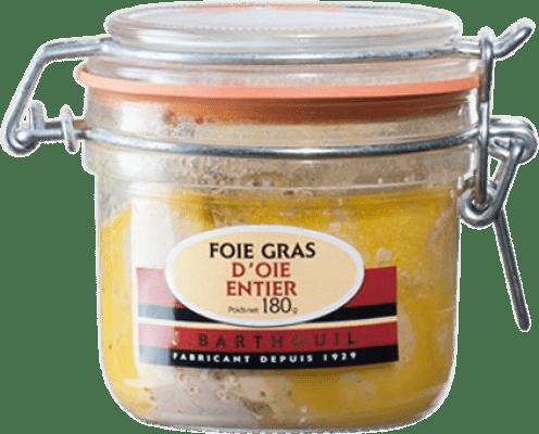 53,95 € Free Shipping | Foie y Patés J. Barthouil Foie d'Oie Entier France