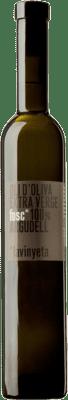11,95 € Envío gratis | Aceite La Vinyeta Fosc Oli Oliva Argudell Cataluña España Botella Medium 50 cl