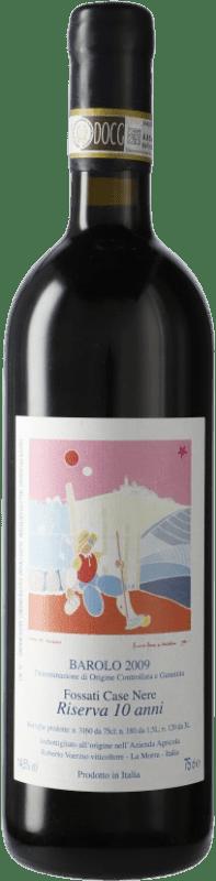 491,95 € Free Shipping | Red wine Roberto Voerzio Fossati Case Nere Riserva 10 Anni Reserva 2009 D.O.C.G. Barolo Piemonte Italy Nebbiolo Bottle 75 cl