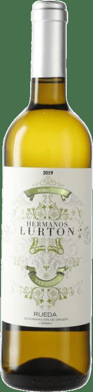 9,95 € Free Shipping | White wine Piedra Negra François Lurton D.O. Rueda Castilla y León Spain Verdejo Bottle 75 cl