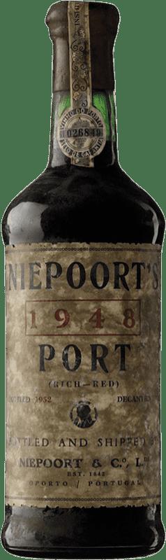 1 098,95 € Free Shipping | Red wine Niepoort Garrafeira 1940 I.G. Porto Porto Portugal Touriga Franca, Touriga Nacional, Tinta Roriz Bottle 75 cl