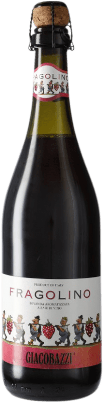 5,95 € Free Shipping | Red sparkling Giacobazzi Fragolino Italy Lambrusco Bottle 75 cl