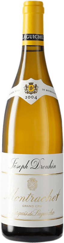 893,95 € Free Shipping | White wine Drouhin Grand Cru Marquis de Laguiche 2004 A.O.C. Montrachet Burgundy France Chardonnay Bottle 75 cl