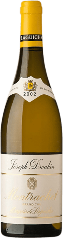 886,95 € Free Shipping | White wine Drouhin Grand Cru Marquis de Laguiche 2002 A.O.C. Montrachet Burgundy France Chardonnay Bottle 75 cl