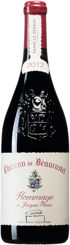 578,95 € Free Shipping | Red wine Château Beaucastel Hommage à Jacques Perrin A.O.C. Châteauneuf-du-Pape France Syrah, Mourvèdre Bottle 75 cl