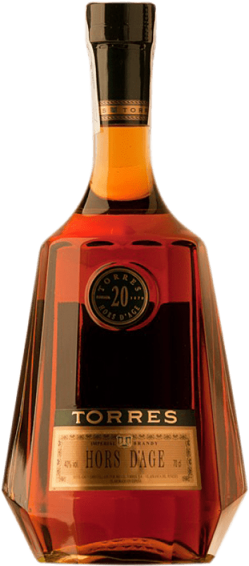 49,95 € Envío gratis | Brandy Torres Hors d'Âge Imperial D.O. Penedès Cataluña España Botella 70 cl