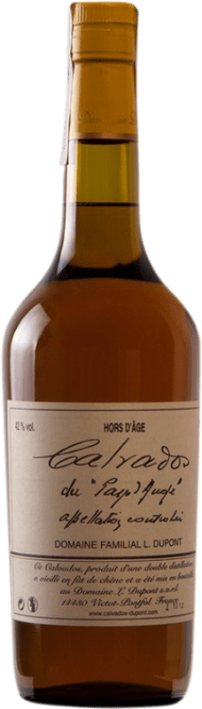 67,95 € Free Shipping | Calvados Domaine Dupont Hors d'Age I.G.P. Calvados Pays d'Auge France Bottle 70 cl
