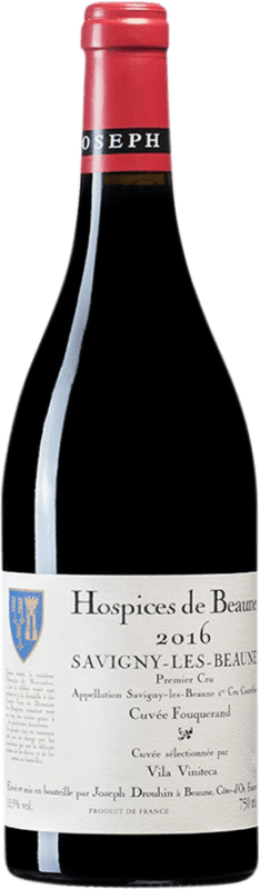 165,95 € Free Shipping | Red wine Drouhin Hospices de Beaune 1er Cru Cuvée Fouquerand A.O.C. Savigny-lès-Beaune Burgundy France Pinot Black Magnum Bottle 1,5 L