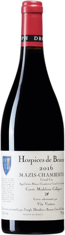 453,95 € Free Shipping | Red wine Drouhin Hospices de Beaune Grand Cru Cuvée Madeleine Collignon A.O.C. Mazis-Chambertin Burgundy France Pinot Black Bottle 75 cl