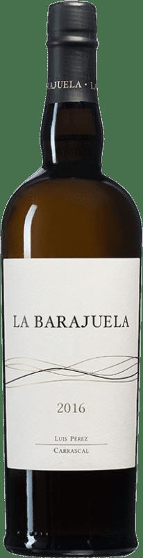 81,95 € Envío gratis | Vino generoso Luis Pérez La Barajuela Fino D.O. Jerez-Xérès-Sherry Andalucía España Palomino Fino Botella 75 cl