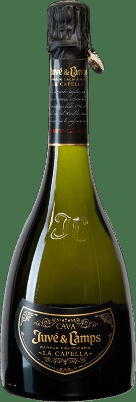 92,95 € | White sparkling Juvé y Camps La Capella Brut Nature Gran Reserva D.O. Cava Spain Xarel·lo Bottle 75 cl