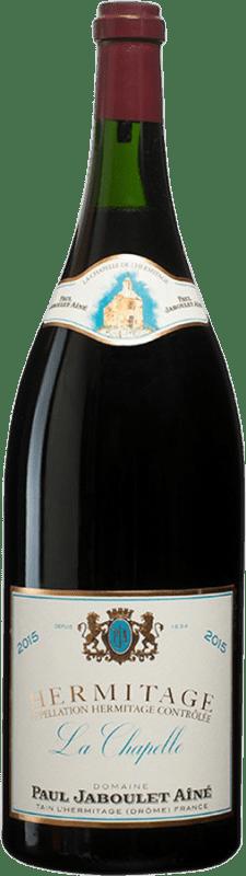 5 658,95 € Envío gratis | Vino tinto Jaboulet Aîné La Chapelle A.O.C. Hermitage Francia Syrah Botella Balthazar 12 L
