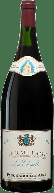 4 355,95 € Envío gratis | Vino tinto Jaboulet Aîné La Chapelle A.O.C. Hermitage Francia Syrah Botella Salmanazar 9 L