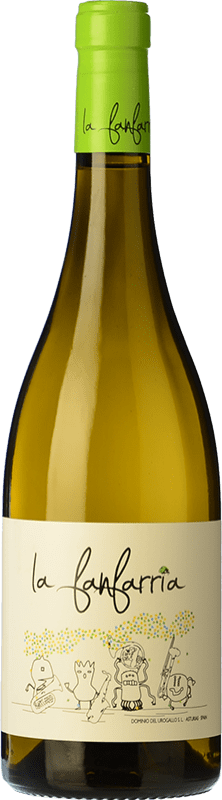 11,95 € Free Shipping | White wine Dominio del Urogallo La Fanfarria Blanc Principality of Asturias Spain Bottle 75 cl