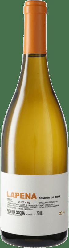 61,95 € 免费送货 | 白酒 Dominio do Bibei Lapena D.O. Ribeira Sacra 加利西亚 西班牙 瓶子 75 cl