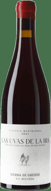 19,95 € Free Shipping | Red wine Landi Las Uvas de la Ira Vino del Pueblo D.O. Méntrida Spain Grenache Bottle 75 cl