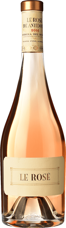 54,95 € Envoi gratuit | Vin rose Hernando & Sourdais Le Rosé de Antídoto D.O. Ribera del Duero Castille et Leon Espagne Tempranillo, Grenache, Albillo Bouteille 75 cl