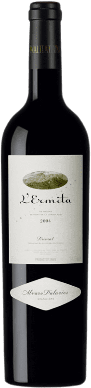 1 207,95 € Envoi gratuit | Vin rouge Álvaro Palacios L'Ermita 2004 D.O.Ca. Priorat Catalogne Espagne Grenache, Cabernet Sauvignon Bouteille 75 cl