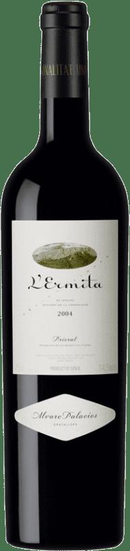 1 207,95 € Envío gratis | Vino tinto Álvaro Palacios L'Ermita 2004 D.O.Ca. Priorat Cataluña España Garnacha, Cabernet Sauvignon Botella 75 cl