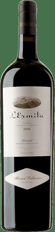 9 298,95 € Free Shipping | Red wine Álvaro Palacios L'Ermita 2006 D.O.Ca. Priorat Catalonia Spain Grenache, Cabernet Sauvignon Special Bottle 5 L