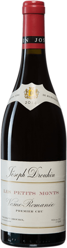 276,95 € Free Shipping | Red wine Drouhin Les Petits Monts A.O.C. Vosne-Romanée Burgundy France Pinot Black Bottle 75 cl